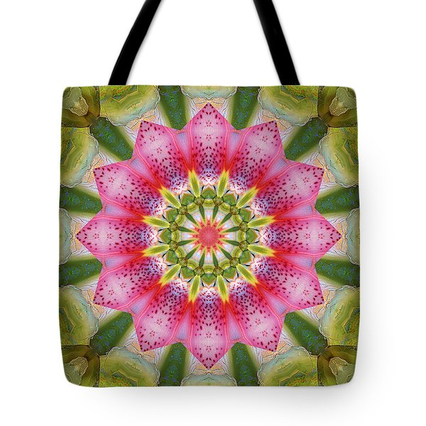 Tote Bag featuring the photograph Healing Mandala 25 by Bell And Todd
