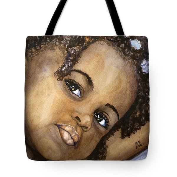 Nigerian Eyes Tote Bag
