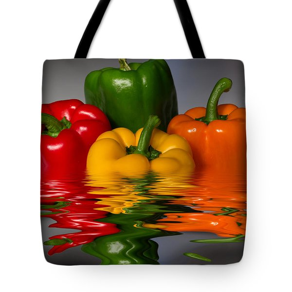 Tote Bag featuring the photograph Healthy Reflections by Shane Bechler