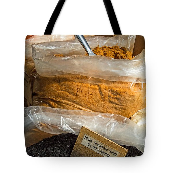 Healthy Spices Tote Bag