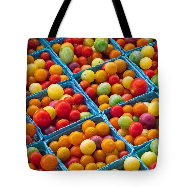 Healthy Tomatoes Tote Bag