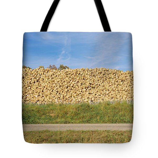 Heap Of Sugar Beets In A Field Tote Bag