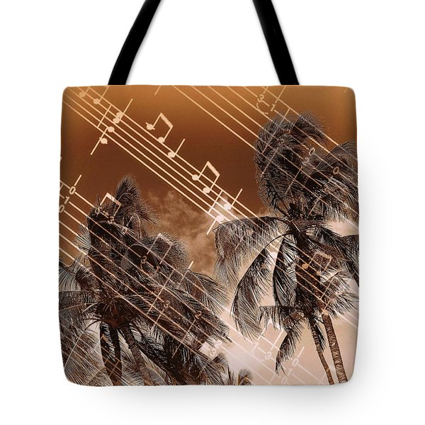 Hear The Music Tote Bag by Athala Carole Bruckner