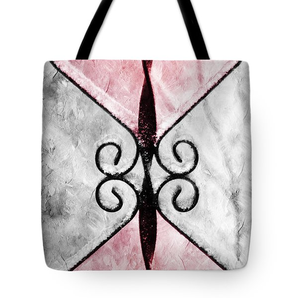 Heart 2 Heart Tote Bag by Andee Design