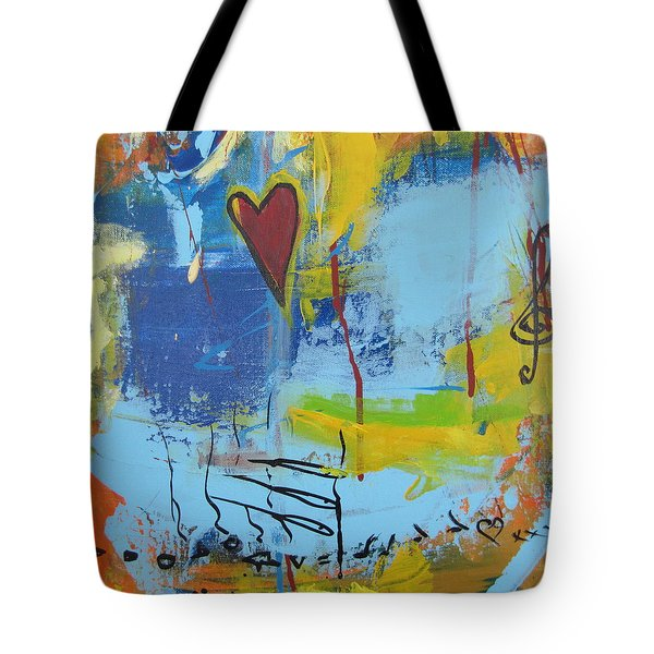 Heart 3 Tote Bag