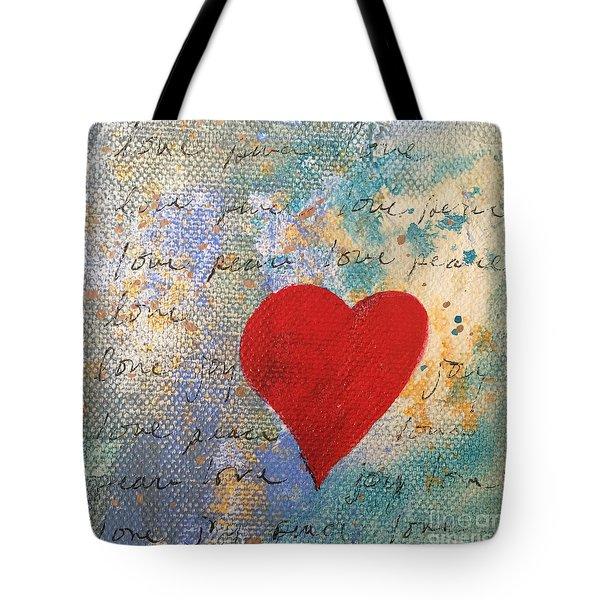 Heart #9 Tote Bag