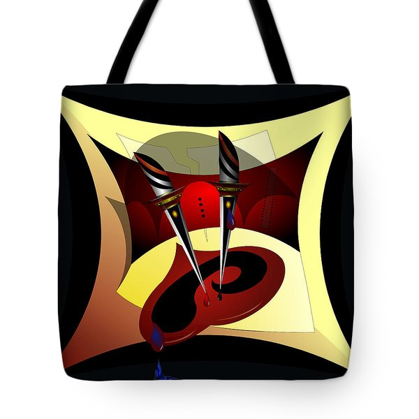 Heart Break Tote Bag