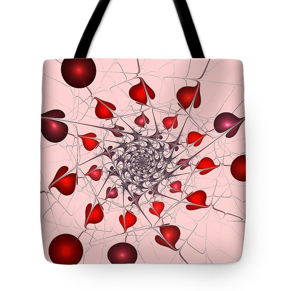 Heart Catcher Tote Bag