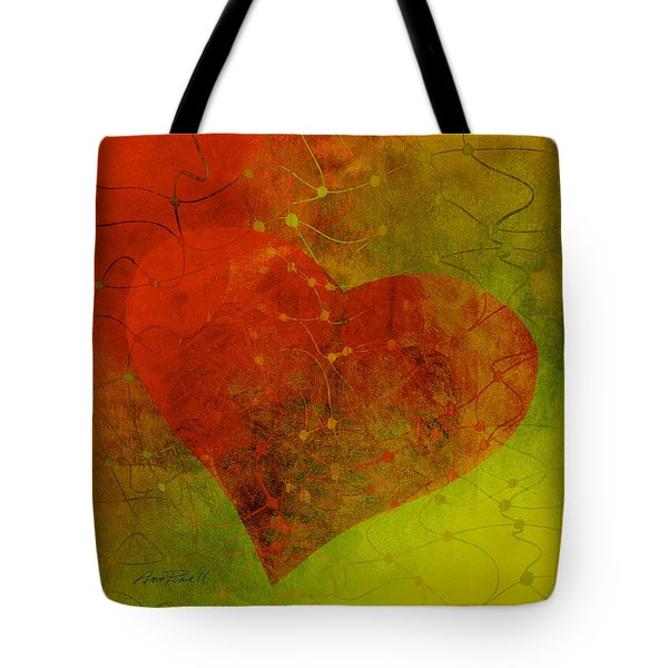 Heart Connections Three Tote Bag
