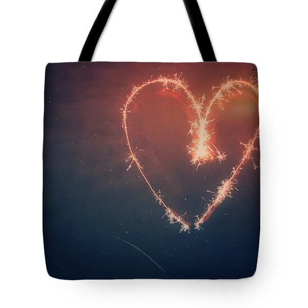 Heart Tote Bag by Daniel Precht