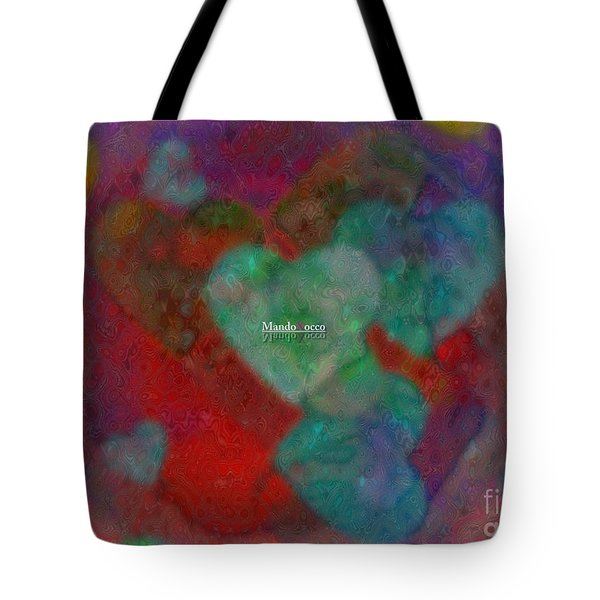 Heart Glow Tote Bag