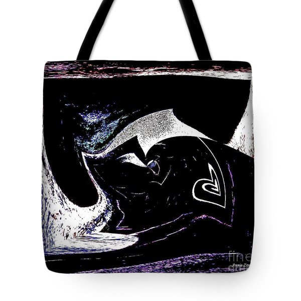 Heart Hanging On Tote Bag