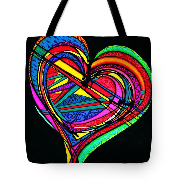 Heart Heart Heart Tote Bag