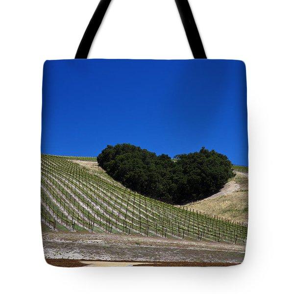 Heart Hill Paso Robles Tote Bag by Jason O Watson