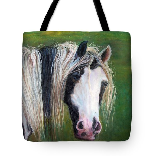 Tote Bag featuring the painting Heart by Karen Kennedy Chatham