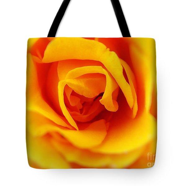 Heart Of A Rose Tote Bag by Ella Kaye Dickey