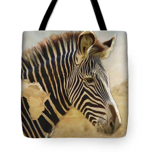 Heart Of Africa Tote Bag