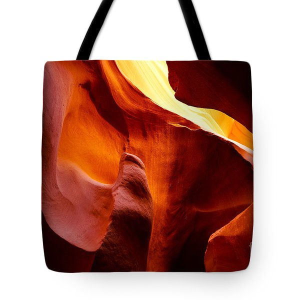 Heart Of Antelope Canyon Tote Bag