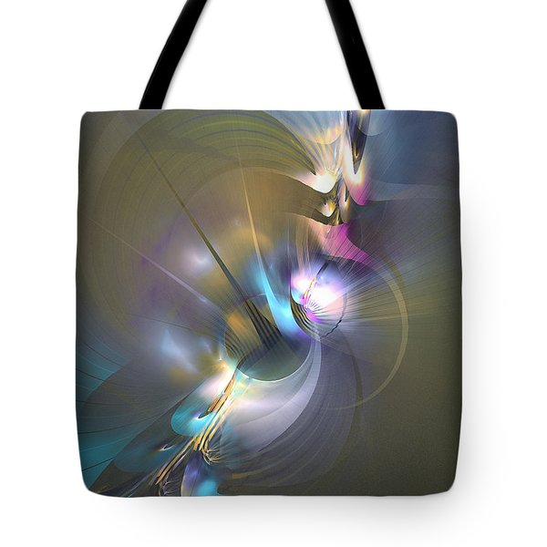 Heart Of Dragon - Abstract Art Tote Bag