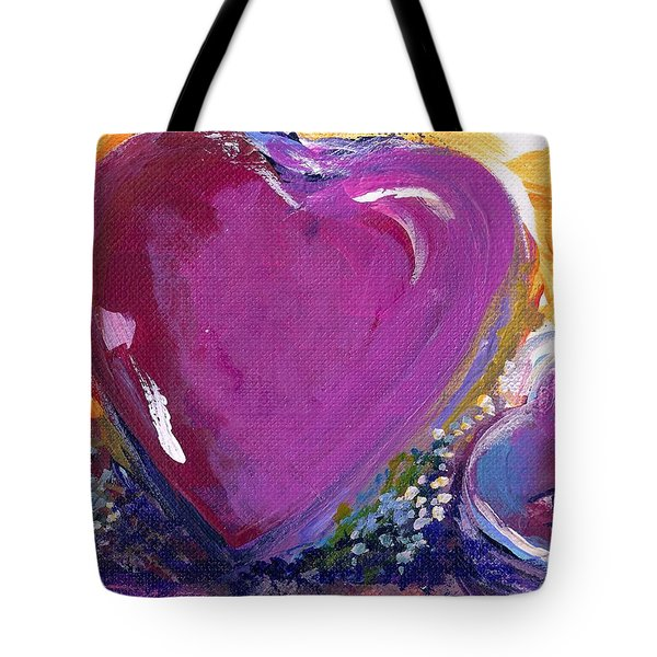Heart Of Love Tote Bag