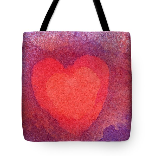 Heart Of Love Tote Bag