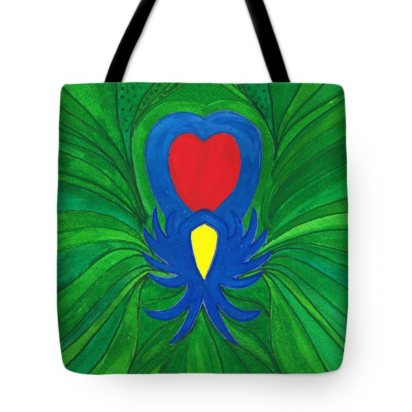 Heart Of Love.mexico Tote Bag
