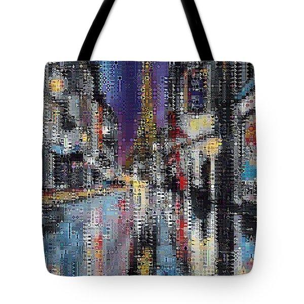 Heart Of Paris Tote Bag