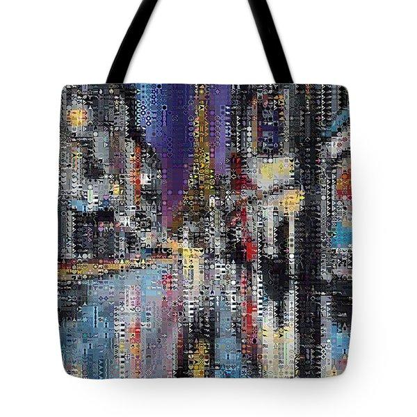 Heart Of Paris Tote Bag by Dragica  Micki Fortuna