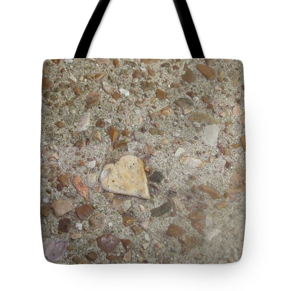 Tote Bag featuring the photograph Heart Of Stone by Fortunate Findings Shirley Dickerson