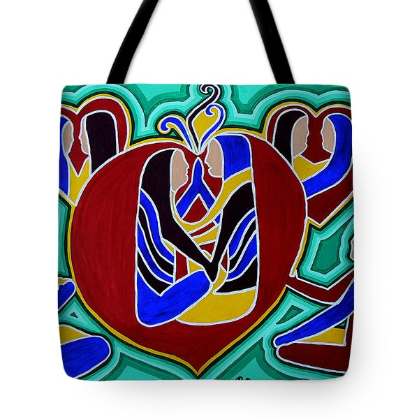 Heart Of The Ages Tote Bag by Barbara St Jean