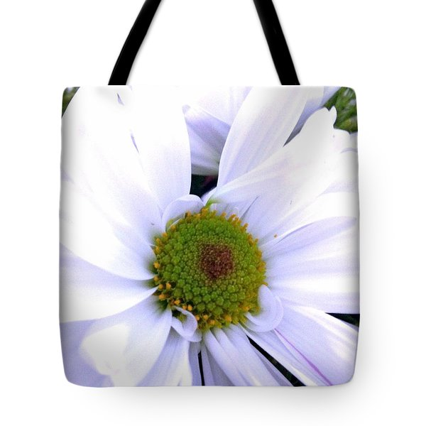 Heart Of The Daisy Tote Bag