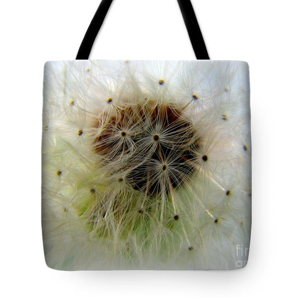 Heart Of The Dandilion Tote Bag