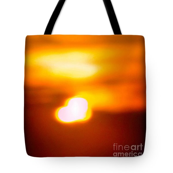 Heart Of The Day Tote Bag