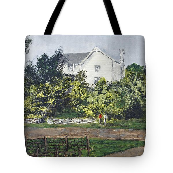 Heart Of The Lakes Tote Bag