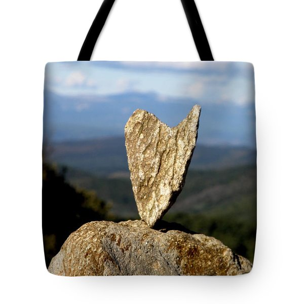 Heart On A Journey Tote Bag