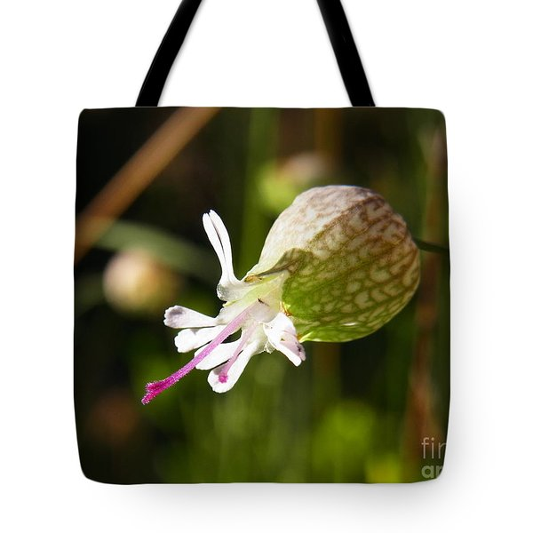Heart On Tongue Tote Bag by Agnieszka Ledwon