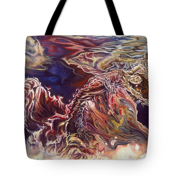 Heart Open Tote Bag by Karina Llergo