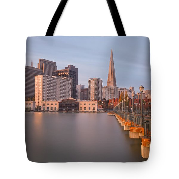 Tote Bag featuring the photograph Heart San Francisco by Jonathan Nguyen