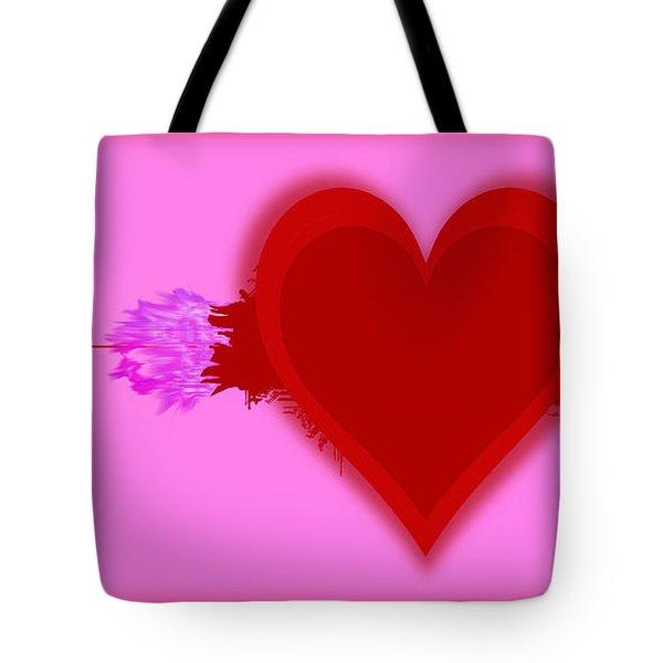 Heart Series Love Speeding Bullets 2 Tote Bag