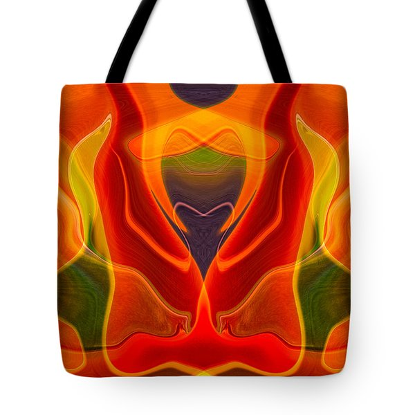 Heart Shaped Box Tote Bag by Omaste Witkowski