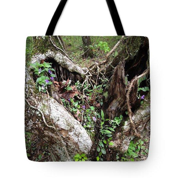 Heart-shaped Tree Tote Bag