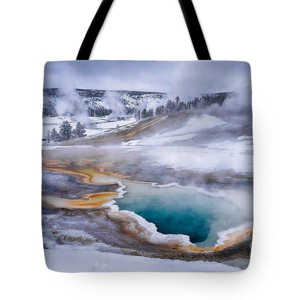 Heart Spring Tote Bag