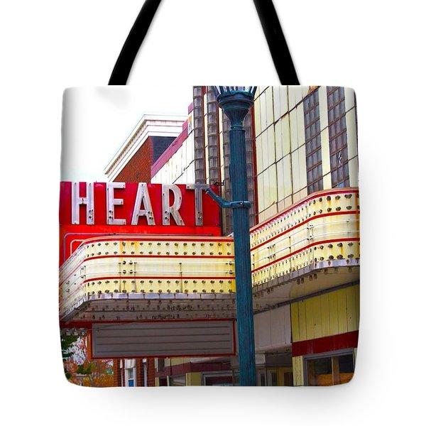 Heart Theatre Effingham Illinois  Tote Bag