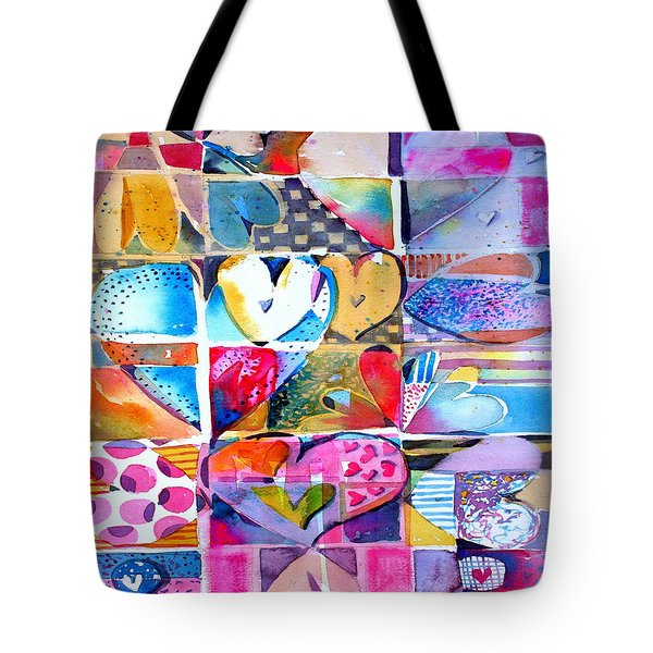 Heart Throbs Tote Bag