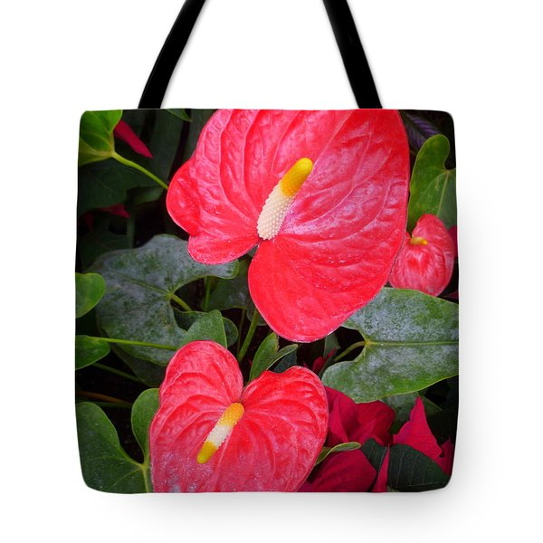 Heart To Heart Tote Bag by Lingfai Leung