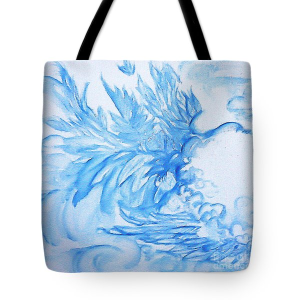 Heart Wing Tote Bag by Heather  Hiland