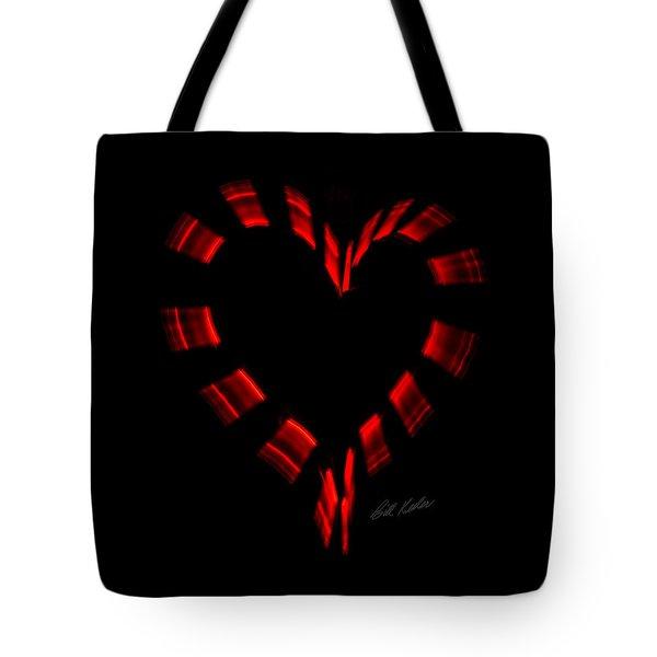 Heartbeat Tote Bag by Bill Kesler