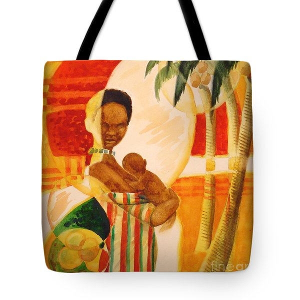 Heartbeat Tote Bag by Marilyn Jacobson