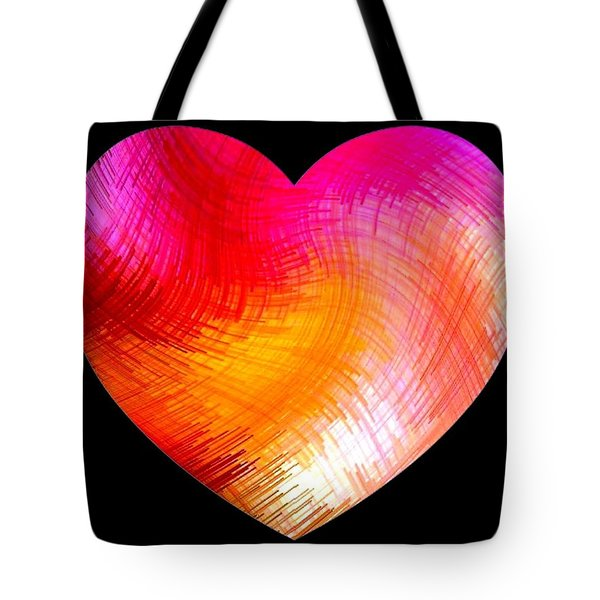 Heartline 6 Tote Bag by Will Borden