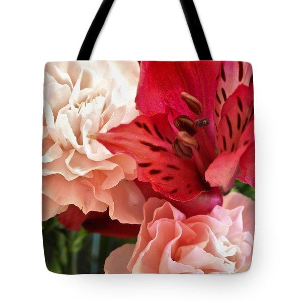 Heart's A Flutter Tote Bag